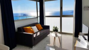 A seating area at Benidorm Sky