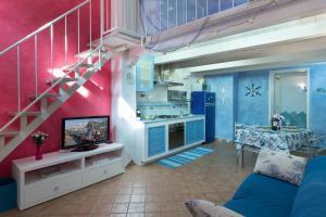 Köök või kööginurk majutusasutuses I Tre Golfi