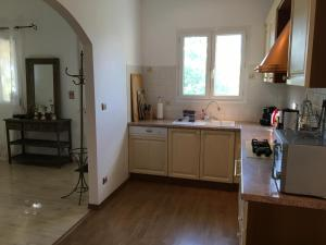 A kitchen or kitchenette at Palazzu