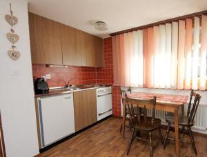 Küche/Küchenzeile in der Unterkunft Studio Saclentse