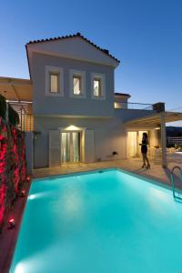 The swimming pool at or near Virginia Luxury Villas