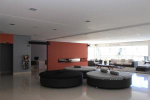 The lobby or reception area at Flat 423- Veredas do Rio Quente
