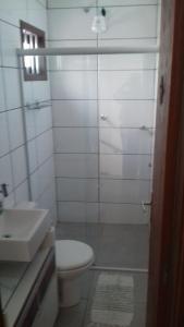 A bathroom at Casa Doca