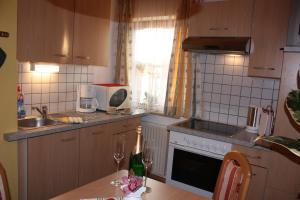 מטבח או מטבחון ב-Prestlhof