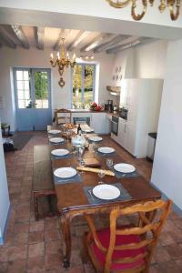 Restaurant ou autre lieu de restauration dans l'établissement chateau de Beauvais gite