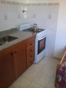 Nhà bếp/bếp nhỏ tại Paraísos Del Sur