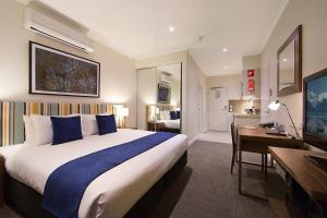A bed or beds in a room at Quest Whyalla