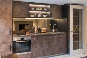 A kitchen or kitchenette at The Lawrance Luxury Aparthotel - York
