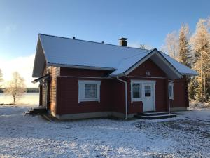 Arctic Villa @ Norvajärvi during the winter