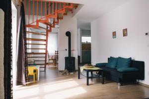 Posezení v ubytování Haus Jolana Lipno