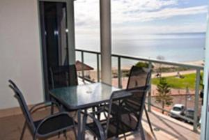 A balcony or terrace at Boardwalk By The Beach