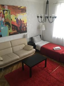 A seating area at Arbat Novinsky US Embassy Apartment