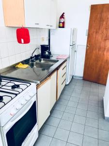 Una cocina o kitchenette en Ventana al Mar