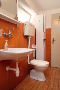 A bathroom at Apartment Zrnovo 9239a