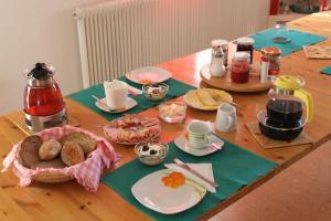Frühstücksoptionen für Gäste der Unterkunft Haus Linda