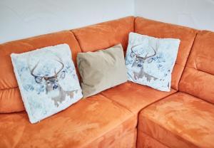 מיטה או מיטות בחדר ב-Appartement Milly by HolidayFlats24
