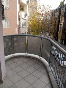 A balcony or terrace at Kudos Bulgaria Apartments