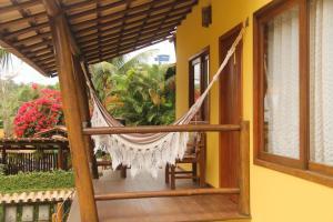 A balcony or terrace at Manacá Flat