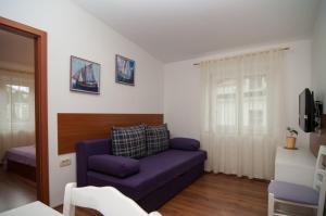 Гостиная зона в Apartments and Rooms Liburnija