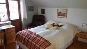 A bed or beds in a room at Your home in Selfoss