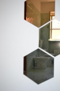 Küche/Küchenzeile in der Unterkunft A pochi passi