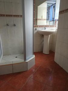 Un baño de Apartamento Centro Historico