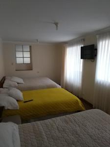 Cama o camas de una habitación en Apartamento Centro Historico