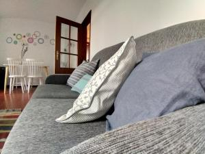 Istumisnurk majutusasutuses Apartamentos Cimo de Vila