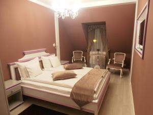 Cama o camas de una habitación en Gothic House