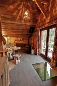 Setusvæði á Aqualodge Hôtel Insolite