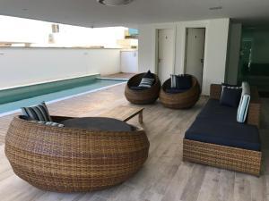 Zona de estar de BRUMAS DE JURERE 2 DORMITÓRIOS