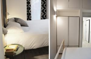A bed or beds in a room at Cozy Design Apartment
