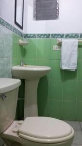 Un baño de Arcopata Apartamentos