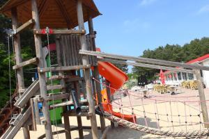 Children's play area at Roompot Kustpark Egmond aan Zee