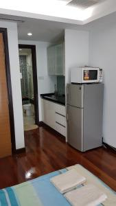 Küche/Küchenzeile in der Unterkunft Casa Residency Condomonium
