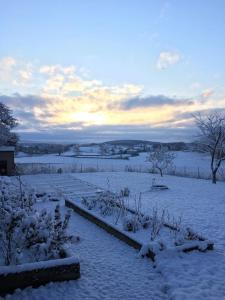 Gites La Tourelle during the winter