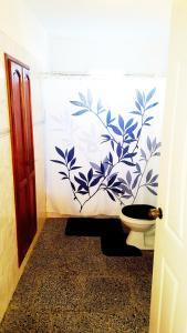 Ein Badezimmer in der Unterkunft Casa Yahima Municipio Playa
