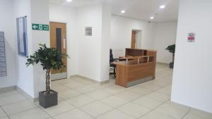 The lobby or reception area at Emerald House