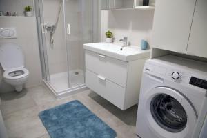 Ванная комната в Zsinkó Villa