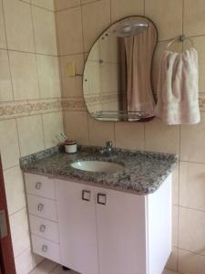 Un baño de Strandhouse Kuhnen