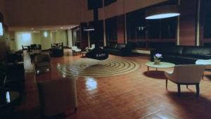 The lounge or bar area at Apart Domingos Martins