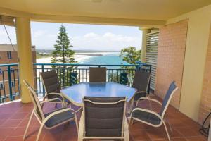 A balcony or terrace at Whitesands, Unit 602, 34-38 North Street