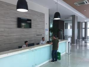 The lobby or reception area at Verano Stay Flat Trab E Relax