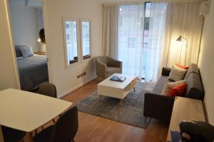 Zona de estar de El Golf Apartments Chile