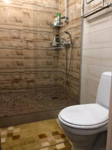 Bagno di Studio apartment on prospekt 50 let Oktyabrya