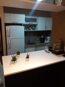 A kitchen or kitchenette at Aires de Maipu