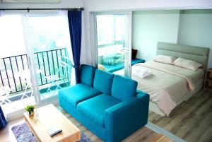 Гостиная зона в Centric Sea Pattaya By Uplus