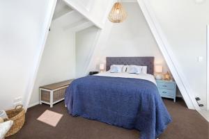 Letto o letti in una camera di The Boat House