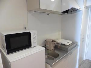 ロカンダ新大阪にあるキッチンまたは簡易キッチン