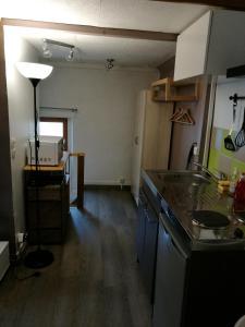 Cuisine ou kitchenette dans l'établissement Studio Esbly